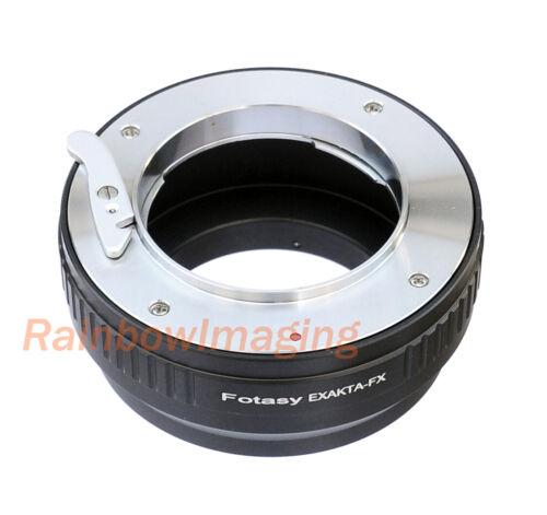 Exakta /Auto Topcon Lens to Fujifilm Fuji X-T3 X-T4 X-Pro3 X-E4 X-T40 Adapter