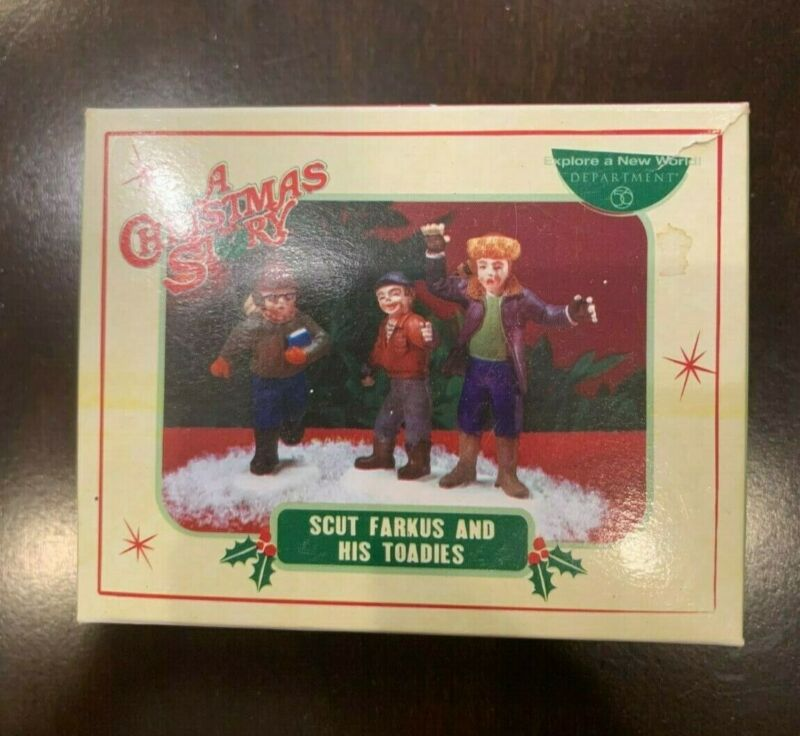 Dept. 56 A Christmas Story Scut Farkus and His Toadies Used