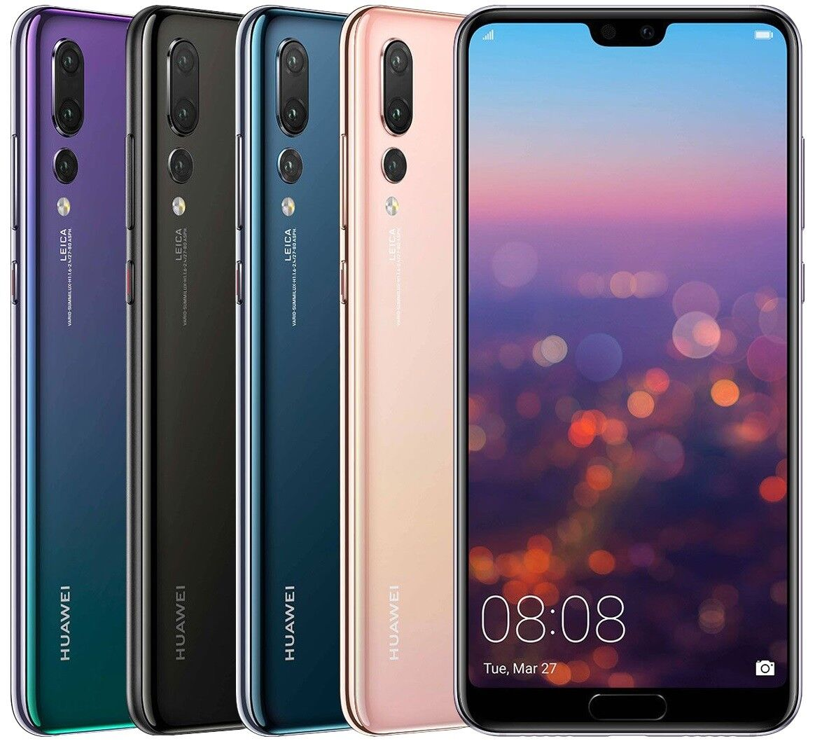 Купить Huawei P20 Pro 128GB CLT-L29 Dual Sim (FACTORY UNLOCKED) Black, Blue, Twilight