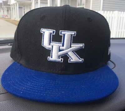University of Kentucky UK Wildcats New Era Fitted Hat Cap Size 7 3/8