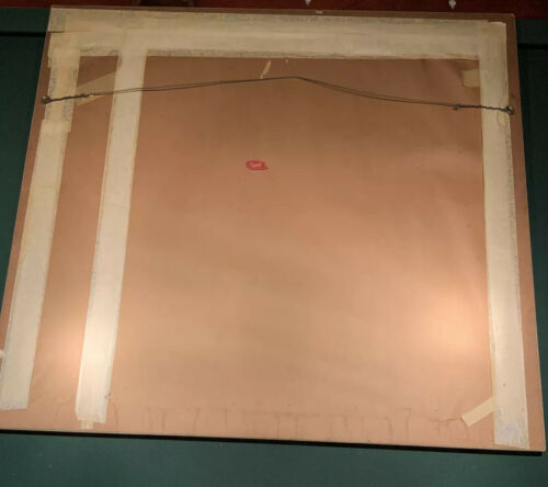 Rare Indiana Artist Mabel Mikel Williams Watercolor 1940 Framed Terre Haute - $1,224.00