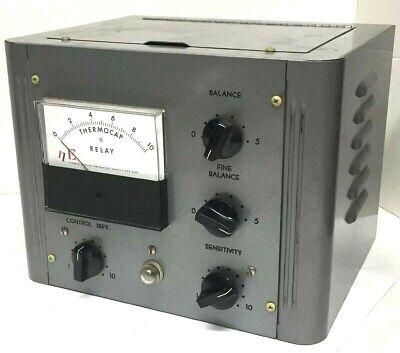 Vintage Niagara Electron Laboratories Vacuum Tube Thermo Cap Relay - Rare Find