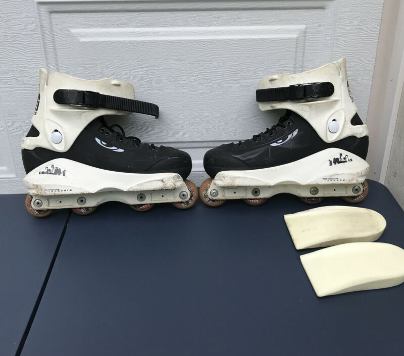 Salomon ST PRO Team Widebody US 9 27 / 27.5 aggressive inline skates (No Liner)