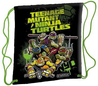 TMNT Teenage Mutant Ninja Turtles Schuhbeutel Turnbeutel Sportbeutel NEU (Teenage Mutant Ninja Turtle Schuhe)