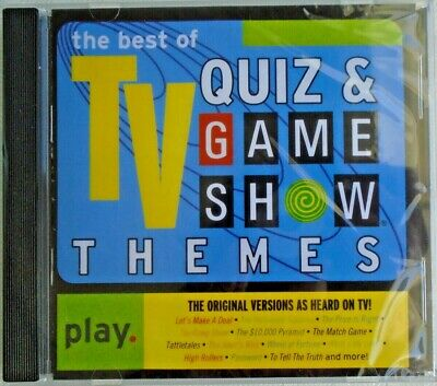 The Best Of TV QUIZ & GAME SHOW THEMES - CD - Brand