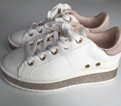 Zara Kids White Casual Shoes Original Brand New~ Size 11