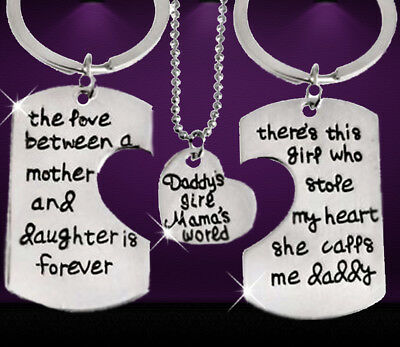 Christmas gifts for her Gift set novelty keyrings presents personalised Mum dad  ()