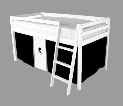 Pirate Tent For Mid Sleeper Bed Boys Bedroom Midsleeper Storage - New