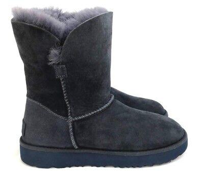 Cuff Ugg Boots (Ugg Classic Cuff Short Suede Sheepskin Women's Boots in Imperial Blue  )
