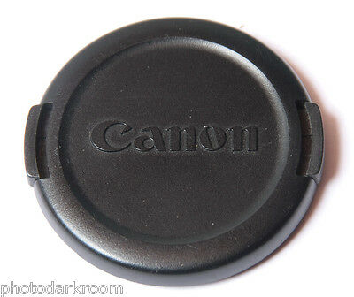 Canon E 52mm Lens Cap - Plastic Snap-On - Japan - USED C048