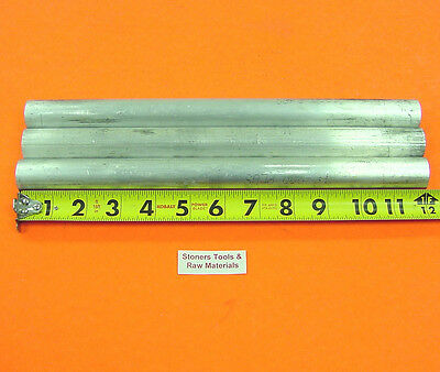 3 Pieces 1 Aluminum 6061 Round Rod 12 Long Solid T6511 Lathe Bar Stock 1.00od