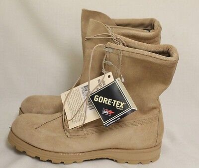 Belleville Gore-Tex ICW Combat Boots with Liner, Color Tan, Size 13.5N, NEW!!