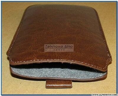 Soft Brown Pouch for HP 10c, HP 11c, HP 12c, HP 12CP, HP 15c, and HP 16c NEW USA for sale  Shipping to India