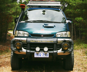 1997 Mitsubishi Delica 4x4 Turbo Diesel ($13,000 with all extras) Macquarie Belconnen Area Preview