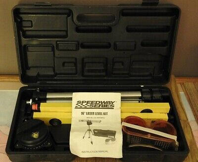 Laser Level Lightly Used Speedway Series W Tripod. Nice Condition. Level