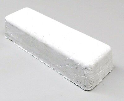 White Luster Jewelry Polishing Compound Buffing Rouge Jewelers Polish Metals Bar