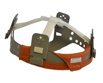 Weldas Sweatsopad Brown Sweatband For Hard Hats And Safety Helmets - 2 Pack