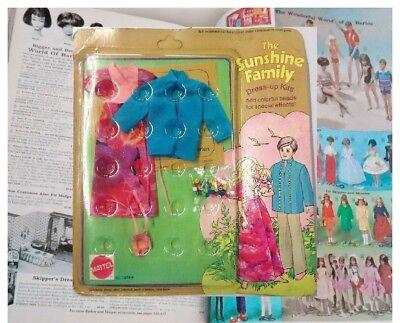 MATTEL SUNSHINE FAMILY - FAMILIE SONNENSCHEIN - DRESS UP KITS FASHION 1974 #7265 ()