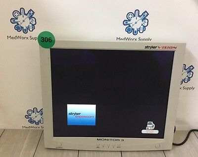 Stryker Vision 1 19 240-030-900 Flat Screen Monitor 300