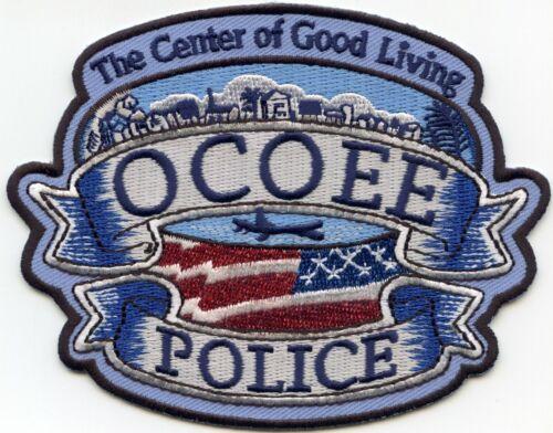 OCOEE FLORIDA FL The Center of Good Living POLICE PATCH