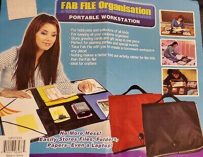 Fab File Organisation Portable Work Area Organizer File Storage