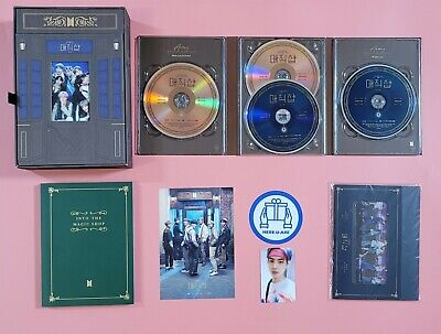 BTS DHL 5th Muster Magic Shop DVD JIN SEOKJIN Photo card OOP rare photobook full