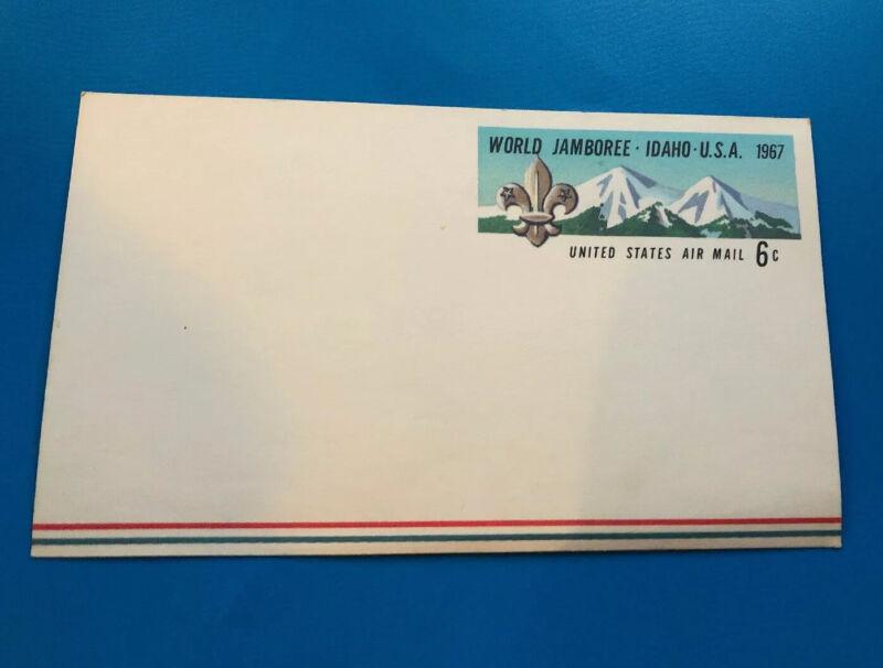 1967 World Jamboree US Postcard     6 Cent