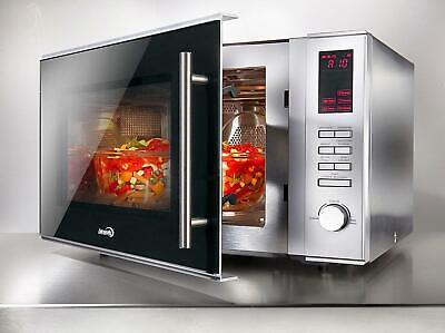 Hanseatic Mikrowelle 305230, Grill und Heißluft, 900 W