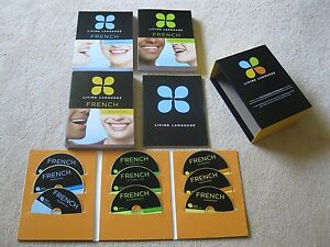 Living Language French (3 Course Books & 9 CDs) - FREE DELIVERY Hurstville Hurstville Area Preview
