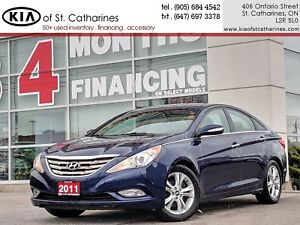 2011 Hyundai Sonata Limited | Leather | Sunroof | Climate Contro