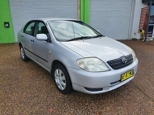 2004 Toyota Corolla Ascent 1.8L 4 Cylinder Sedan AUTOMATIC Lambton Newcastle Area Preview