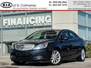 2015 Buick Verano 1ST | Navigation | Sunroof | Adv. Safety