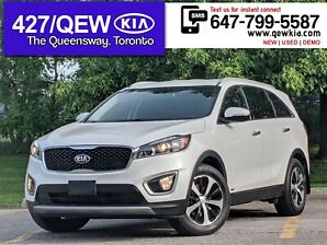 2017 Kia Sorento EX Turbo | LEATHER | BLINDSPOT ALRT | ANDROID AUTO