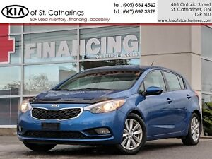 2015 Kia Forte5 2.0L LX+ | Bluetooth | Cruise | Heated Seat