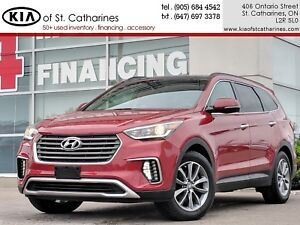 2017 Hyundai Santa Fe XL Luxury |Navigation|Beige Leather|Panora