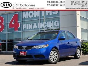 2011 Kia Forte LX | Bluetooth | Sunroof | Voice Command