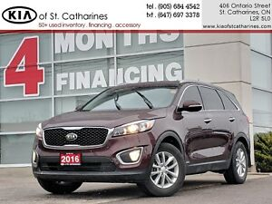 2016 Kia Sorento LX AWD | Rear Sensor | Bluetooth | Heated Seat