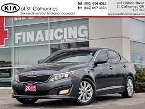 2015 Kia Optima EX | Leather | Climate Control | Backup Camera