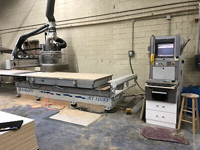 Busellato Jet 100rt 4 X 9 Cnc Router
