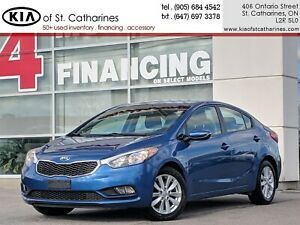 2014 Kia Forte LX+ | Heated Seat | Alloy | Cruise | Bluetooth