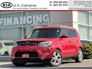 2015 Kia Soul EX+ | Backup Camera | Heated Seat | Roof Rack