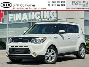 2016 Kia Soul EX+ | Backup Camera | Heated Seat | Roof Rack