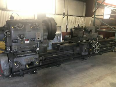Oldfield And Schofield 52 X 144 Gap Bed Engine Lathe