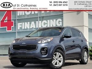 2017 Kia Sportage LX AWD | Heated Seat | Auto Headlight | Cruise