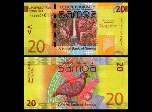 SAMOA 20 TALA 2017 YEAR P 40cr UNC
