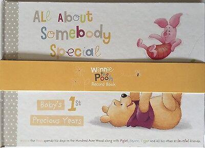 Hallmark Winnie the Pooh Baby First Years Keepsake Record Book-Christening Gifts
