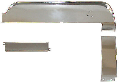 - 1967 1968 FORD MUSTANG DELUXE DASH PANEL TRIM KIT 3PC #68-169801 #67F-99410-M