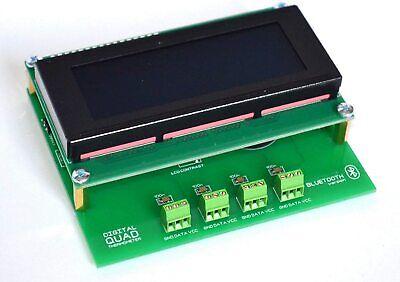 4ch Temperature Data Logger Recorder Rtc -55.125 C Compatible Ds18b20 Wireless