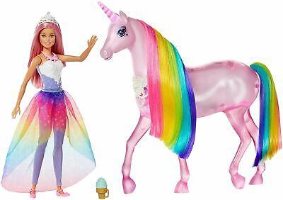 Barbie Dreamtopia Magic Touch Unicorn & Doll