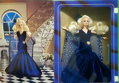 Mattel Barbie Doll 1995 Society Style Collection SAPPHIRE DREAM MIB 13255